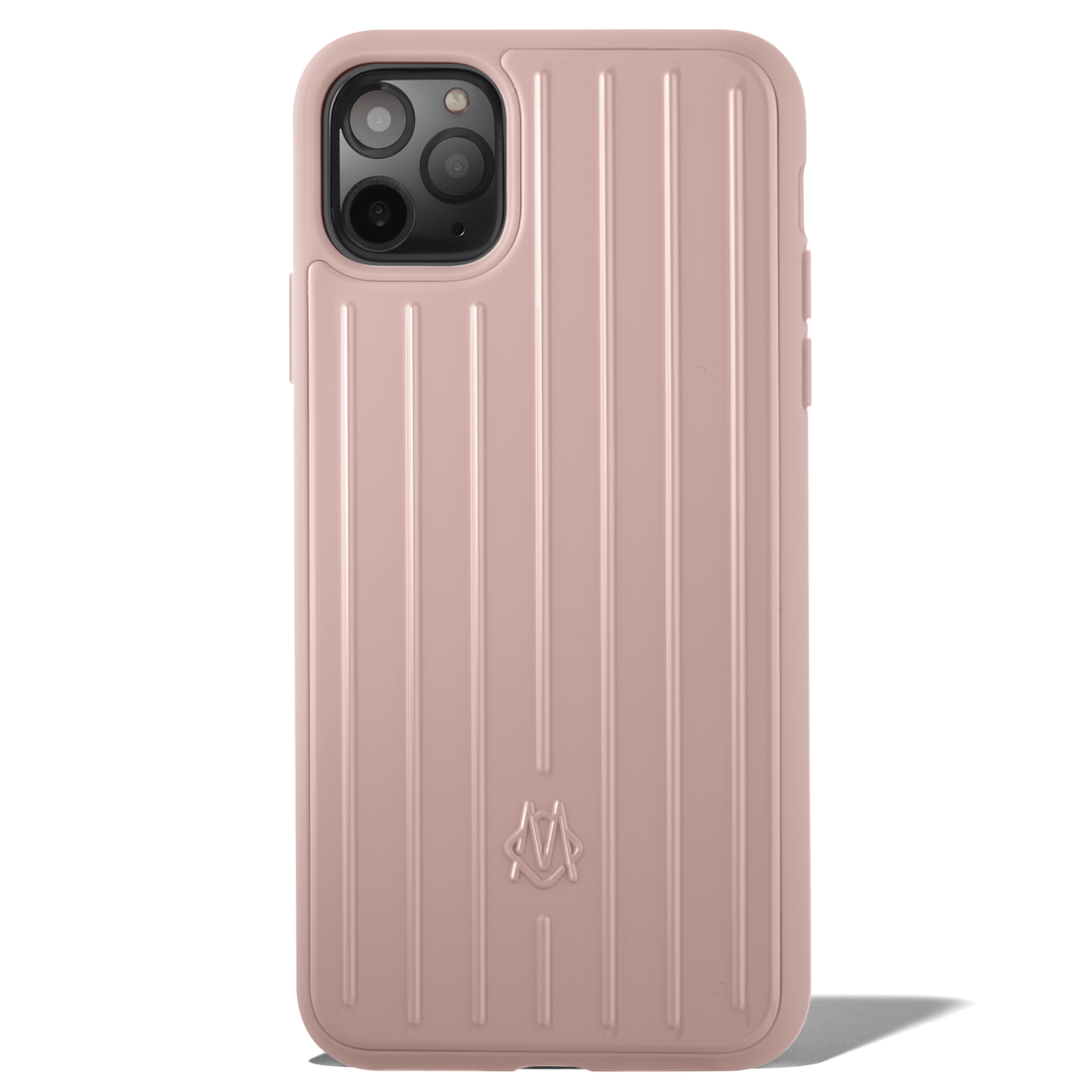 Polycarbonate Desert Rose Pink Groove Case for iPhone 11 Pro Max - accessories