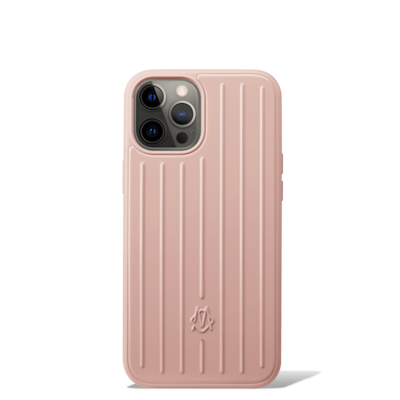 Polycarbonate Desert Rose Pink Groove Case for iPhone 12 Pro Max