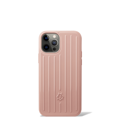 Polycarbonate Desert Rose Pink Groove Case for iPhone 12 & 12 Pro