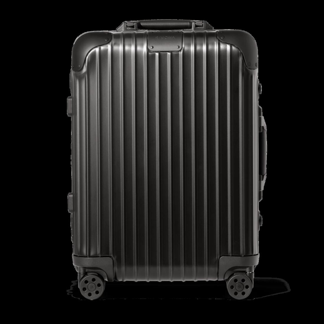 おしゃれなアルミ製スーツケース リモワ Cabin S