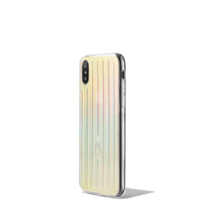 Irisierendes Groove iPhone XS Case