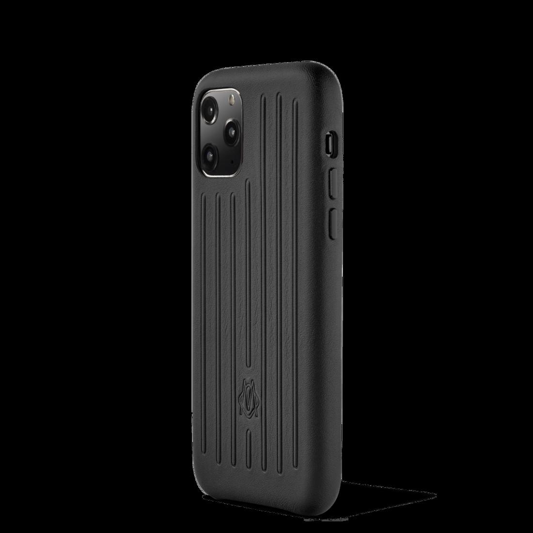 Coque pour iPhone 11 Pro en cuir | Noir | RIMOWA