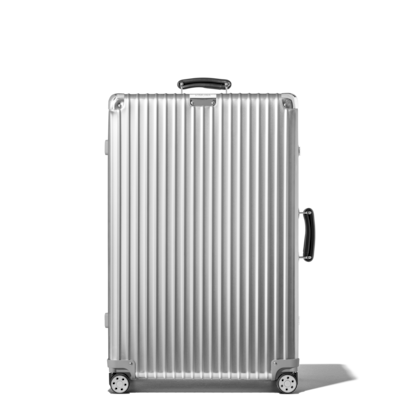 b8d2ec68d Aluminium suitcases: Hard shell carry on or checked luggage with 4 ...
