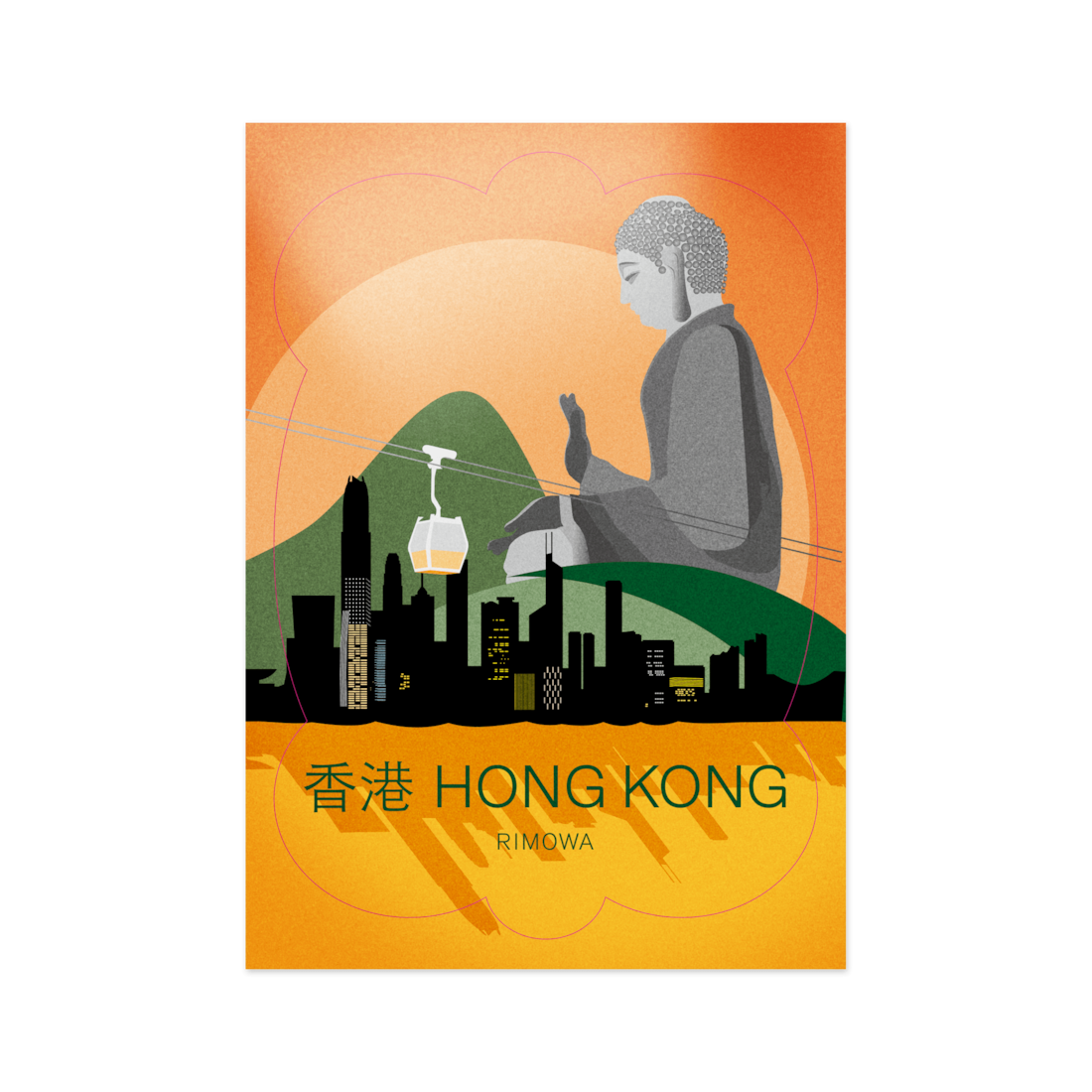 Hong Kong - Stickers