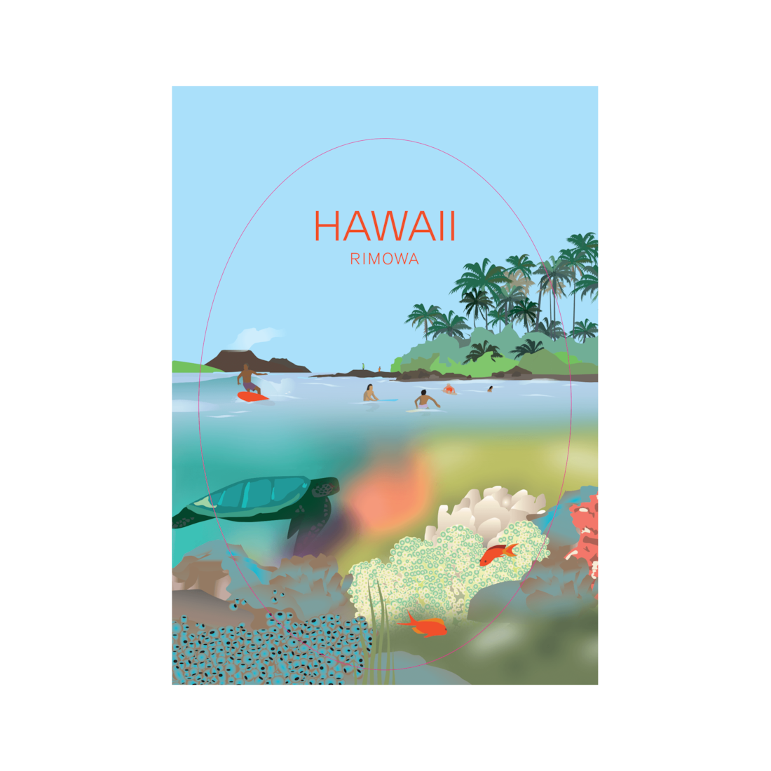 Hawaii - Stickers