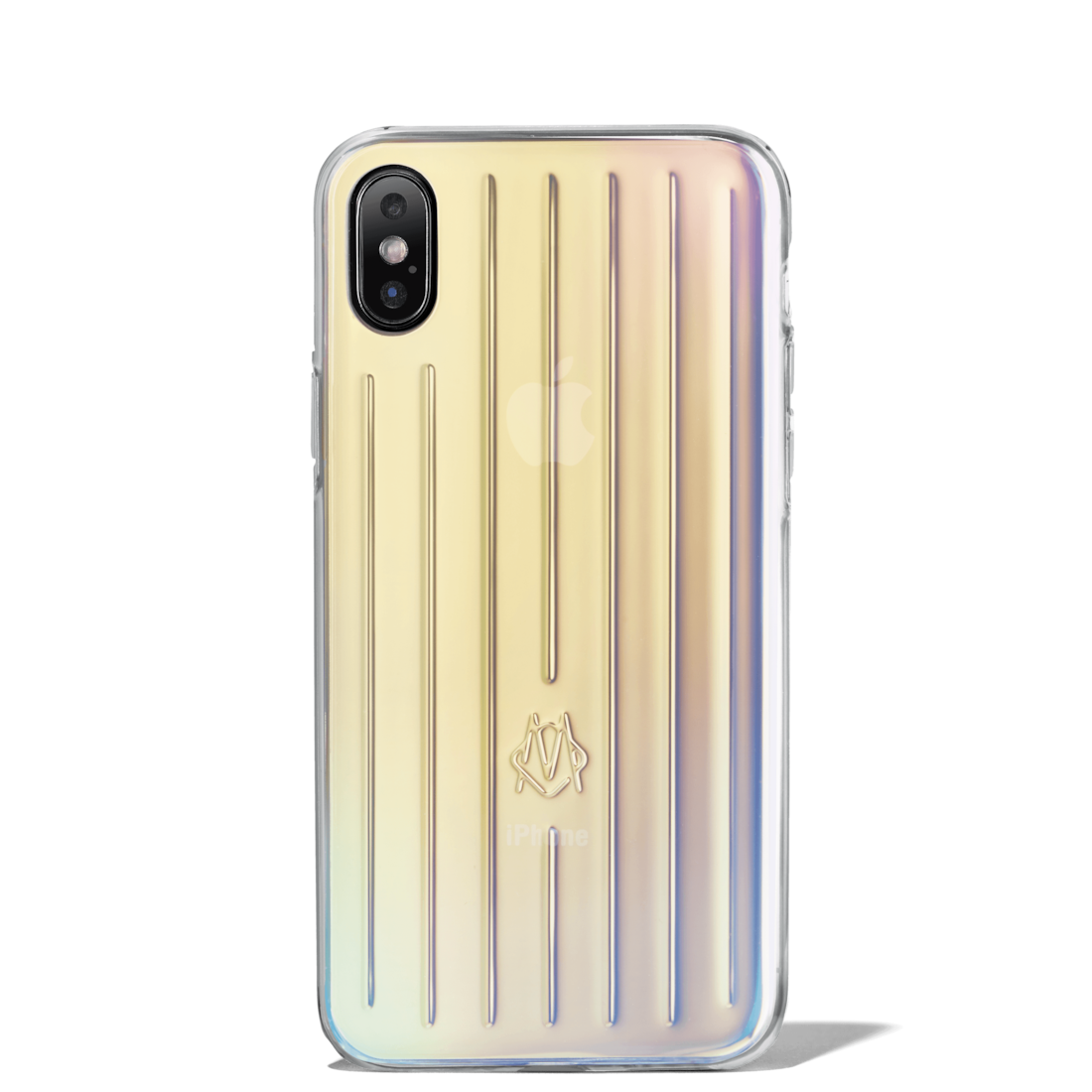 Iridescent Groove Case for iPhone XS