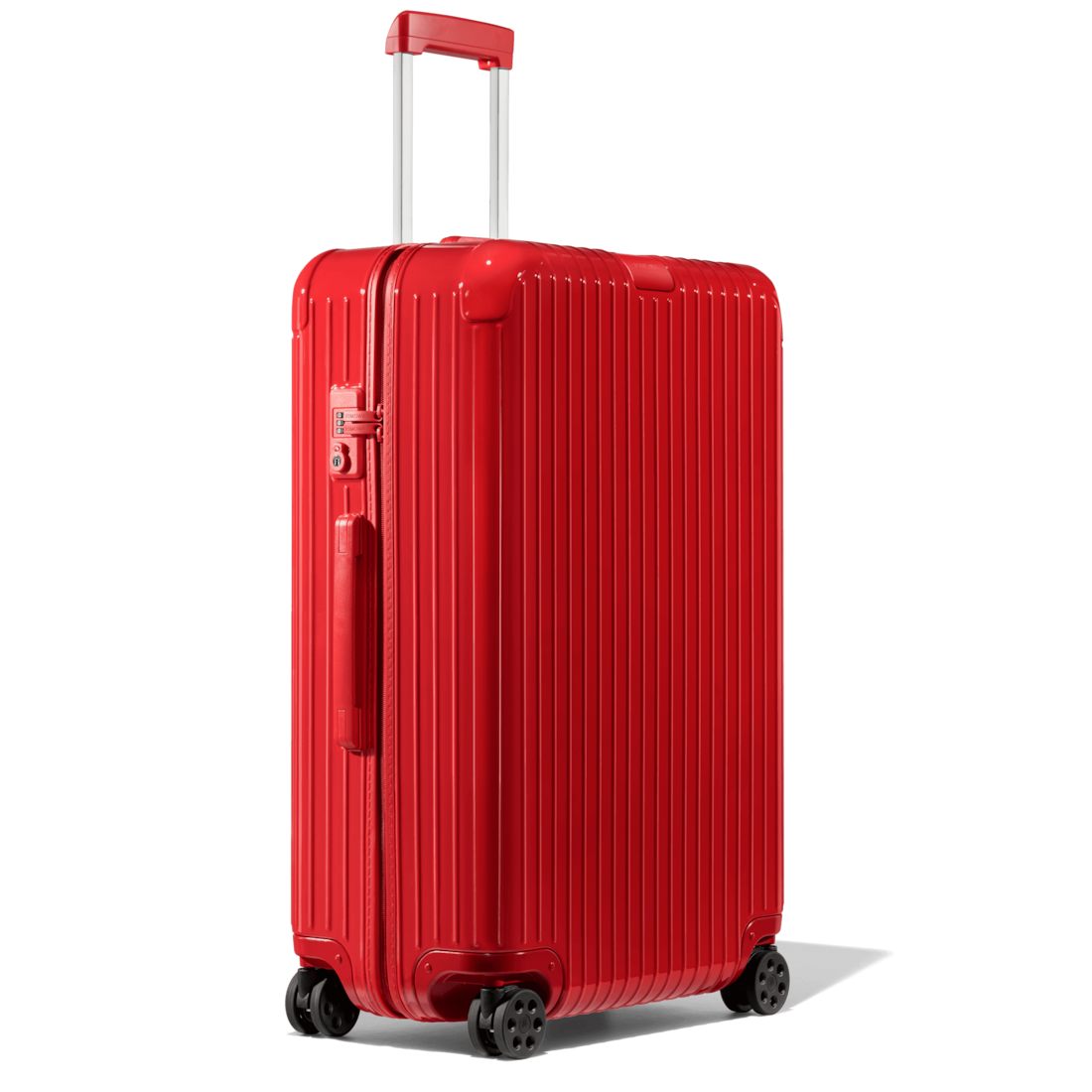 Rimowa Essential Checked rolling suitcase with 4 wheels