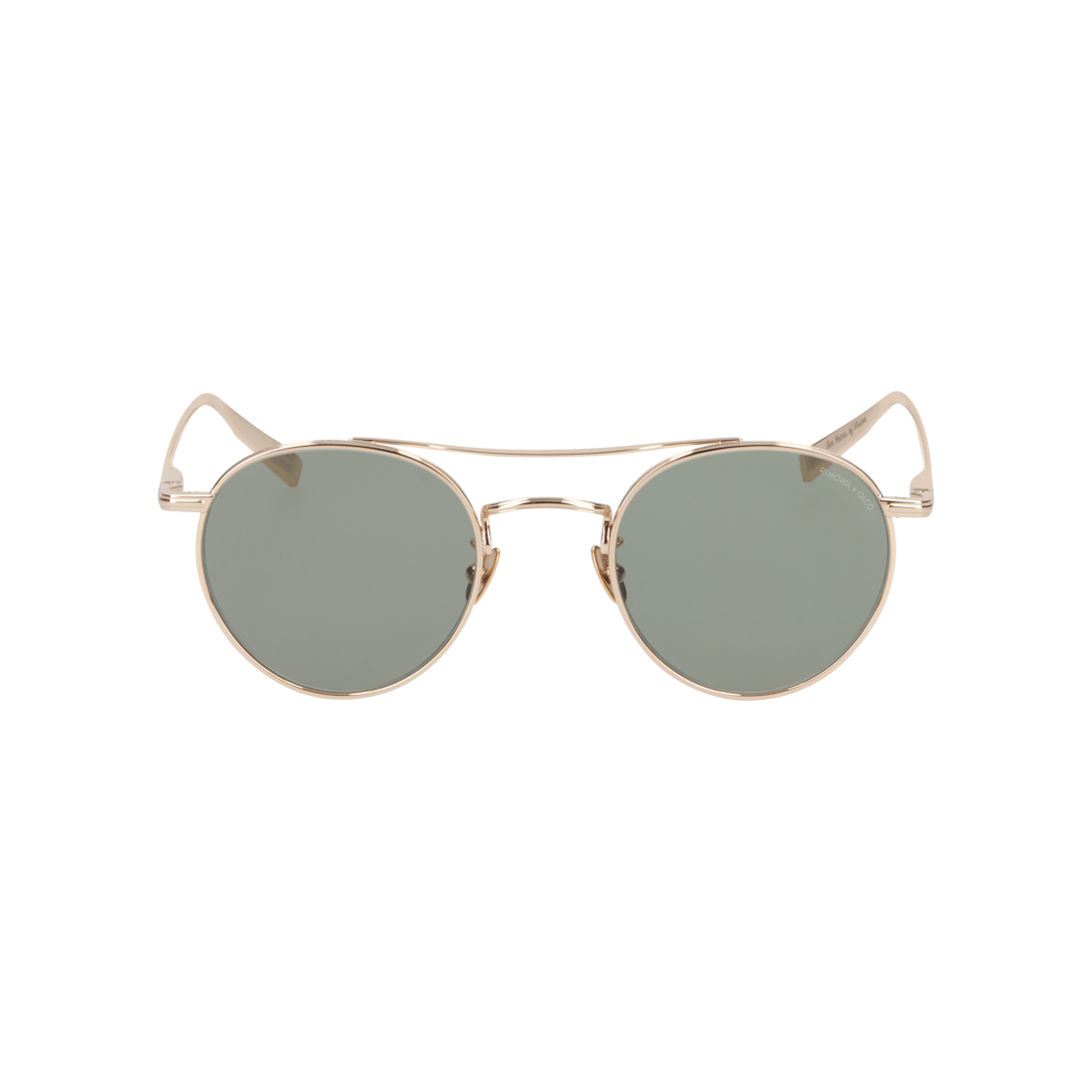 Sunglasses in Gold Metal