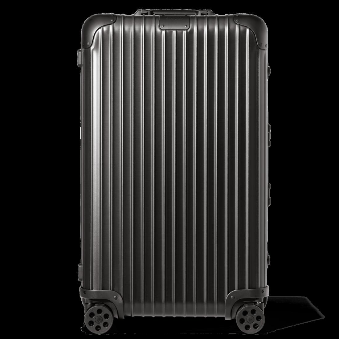 おしゃれなアルミ製スーツケース リモワ Trunk