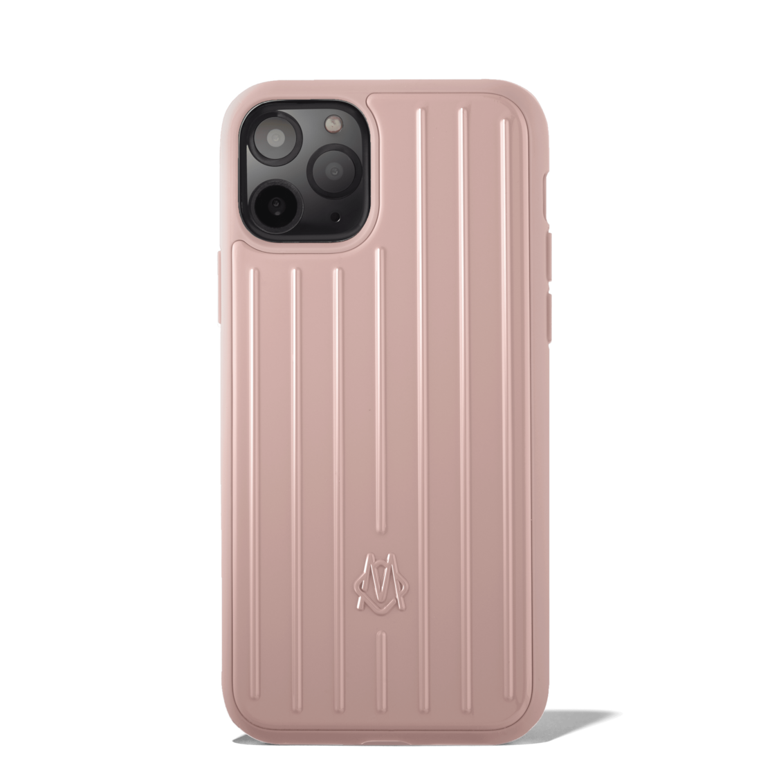 Polycarbonate Desert Rose Pink Groove Case for iPhone 11 Pro