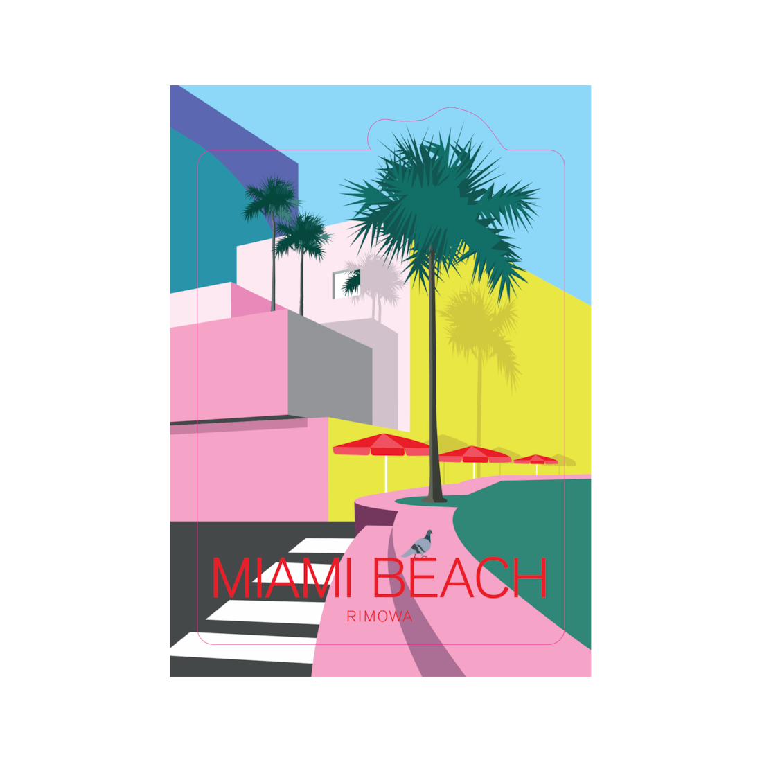 Miami - Stickers