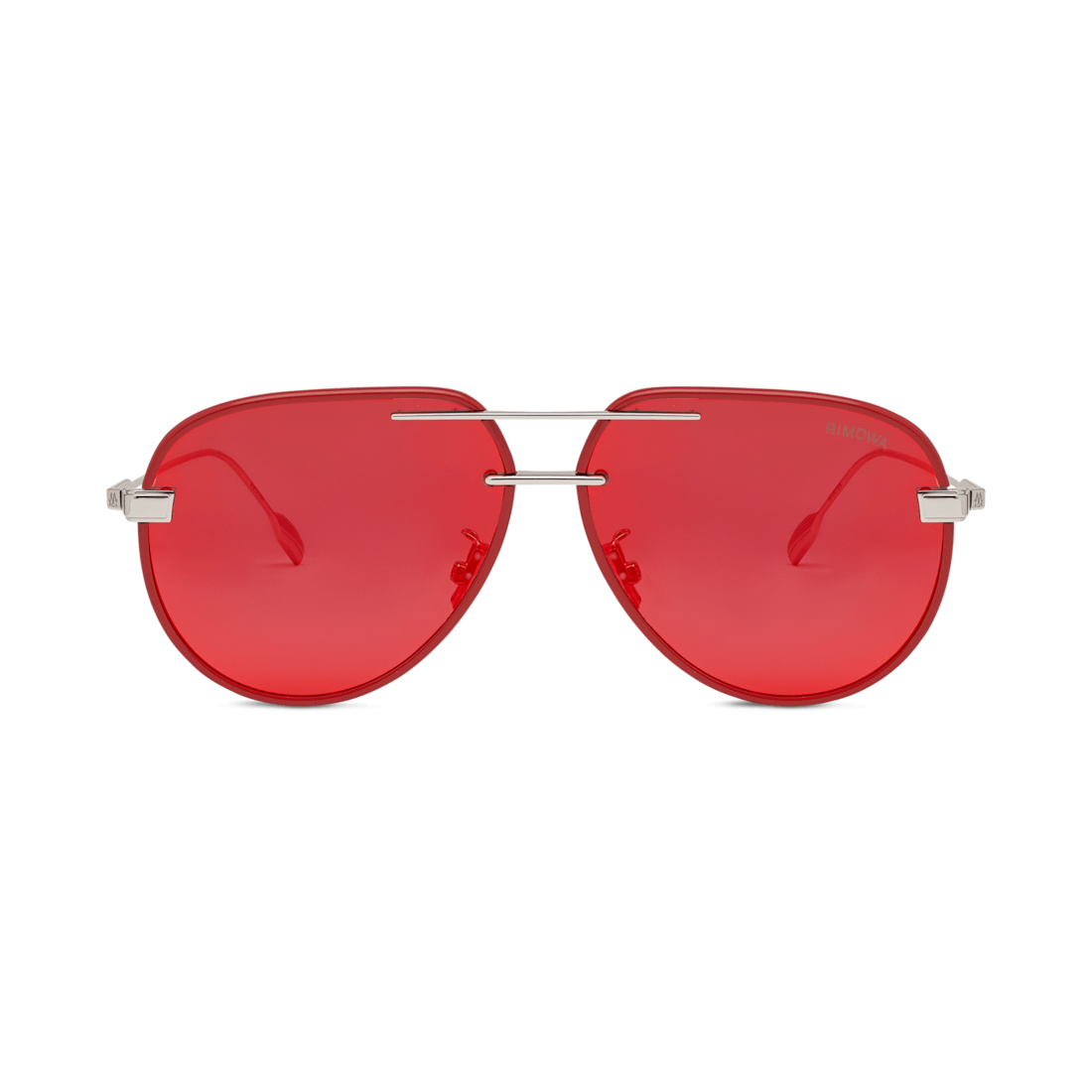 Pilot Red Mirror Sunglasses