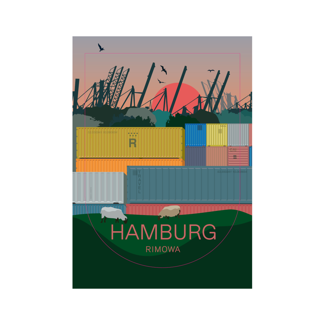 Hamburg - Stickers