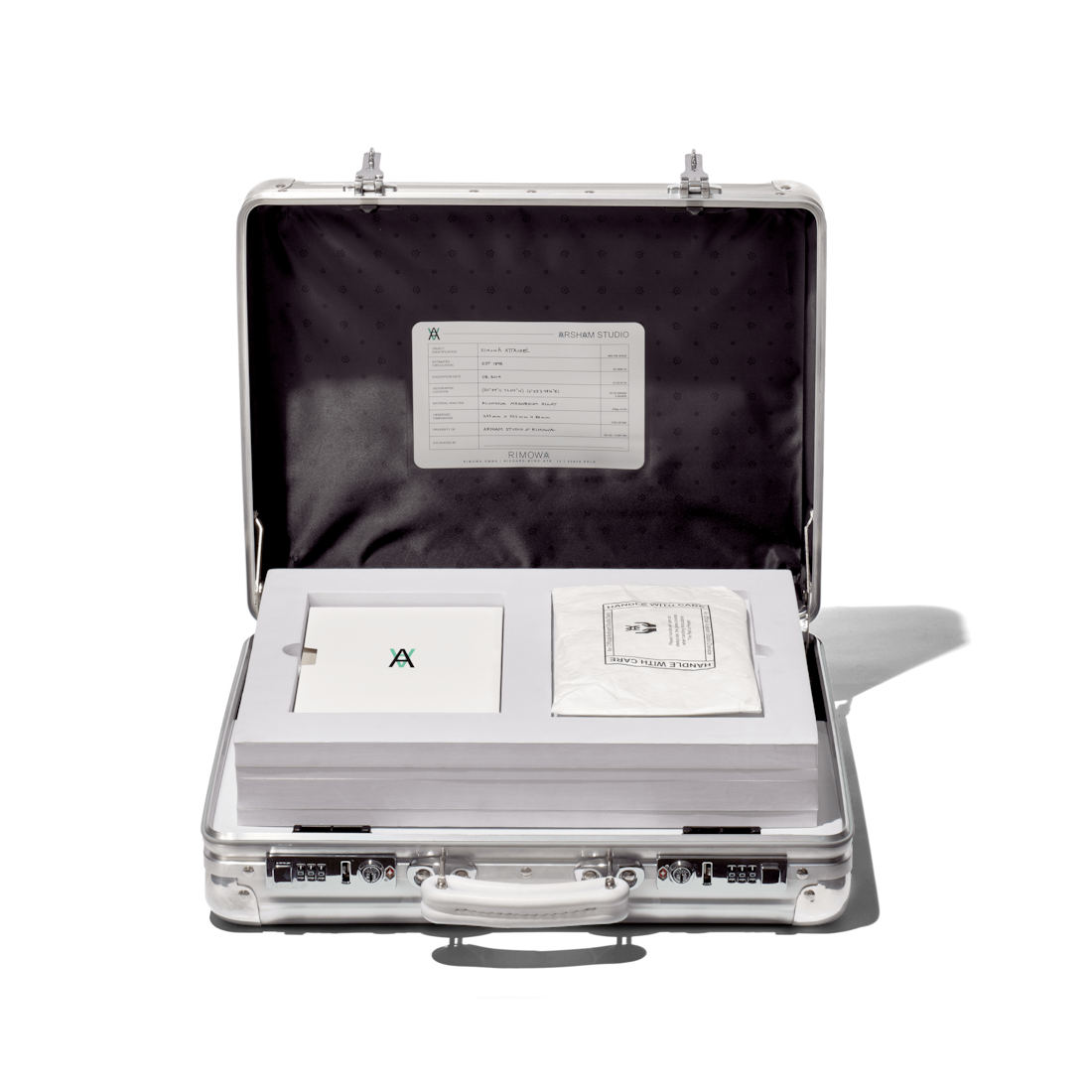 RIMOWA x Daniel Arsham Eroded Attache - Limited Edition