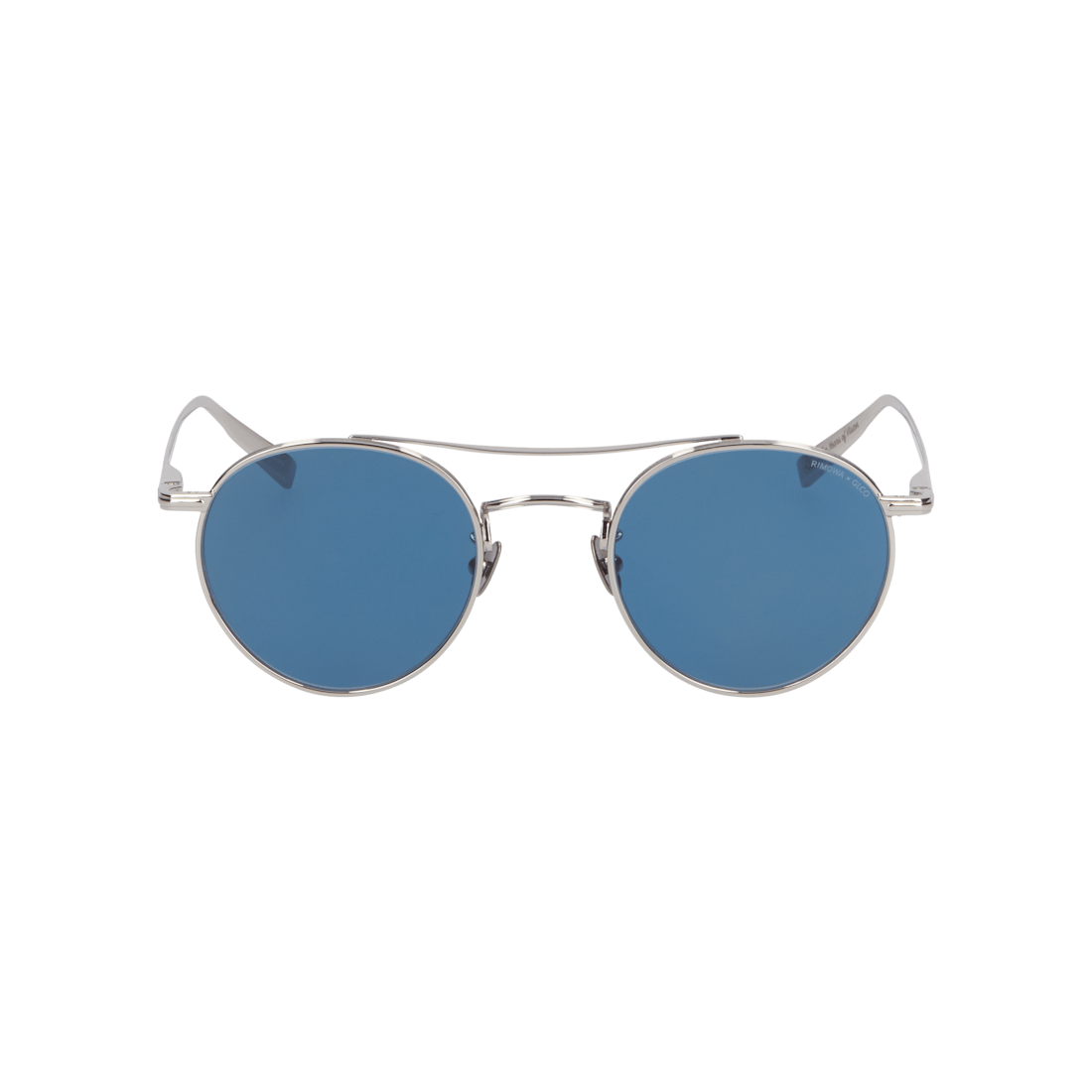 Sunglasses in Silver Metal