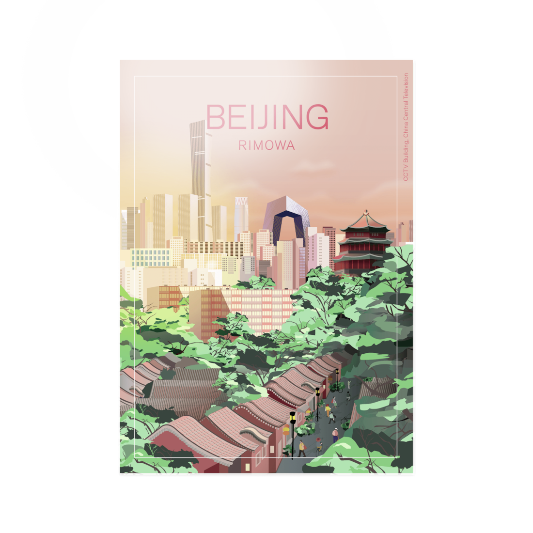 Beijing - Stickers