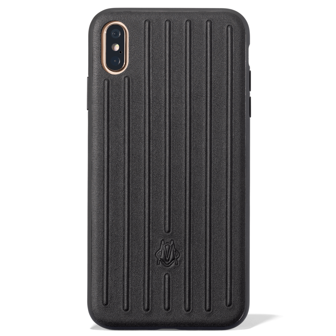 a58651ad2a22 RIMOWA accessories Leather Black Case for iPhone XS Max