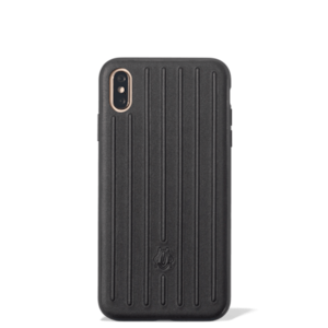 Leather Black Case for iPhone XS Max