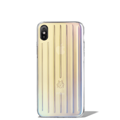 Irisierendes Groove iPhone XS Max Case