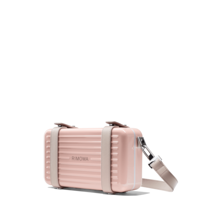 Polycarbonate Cross-Body Clutch Bag