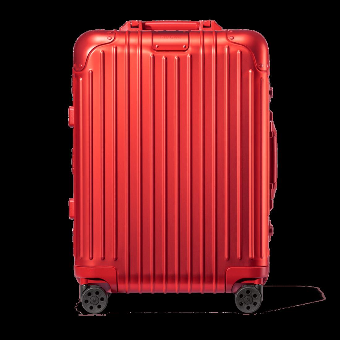 おしゃれなアルミ製スーツケース リモワ Cabin