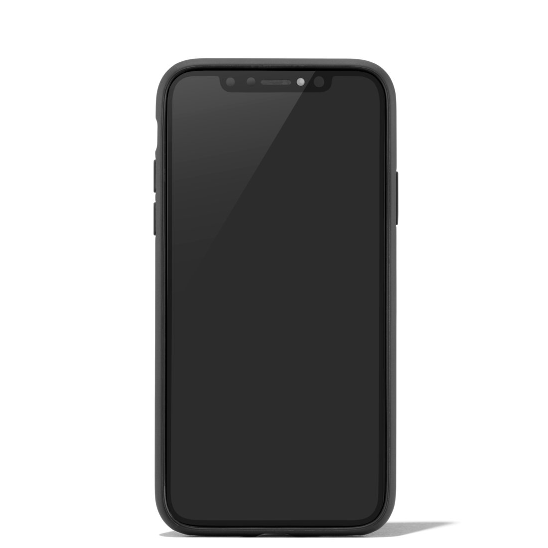 Leather Black Case for iPhone XS - accessories