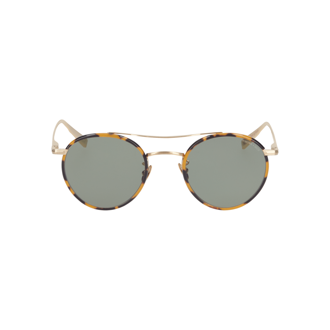 Tortoise Sunglasses in Metal and Acetate
