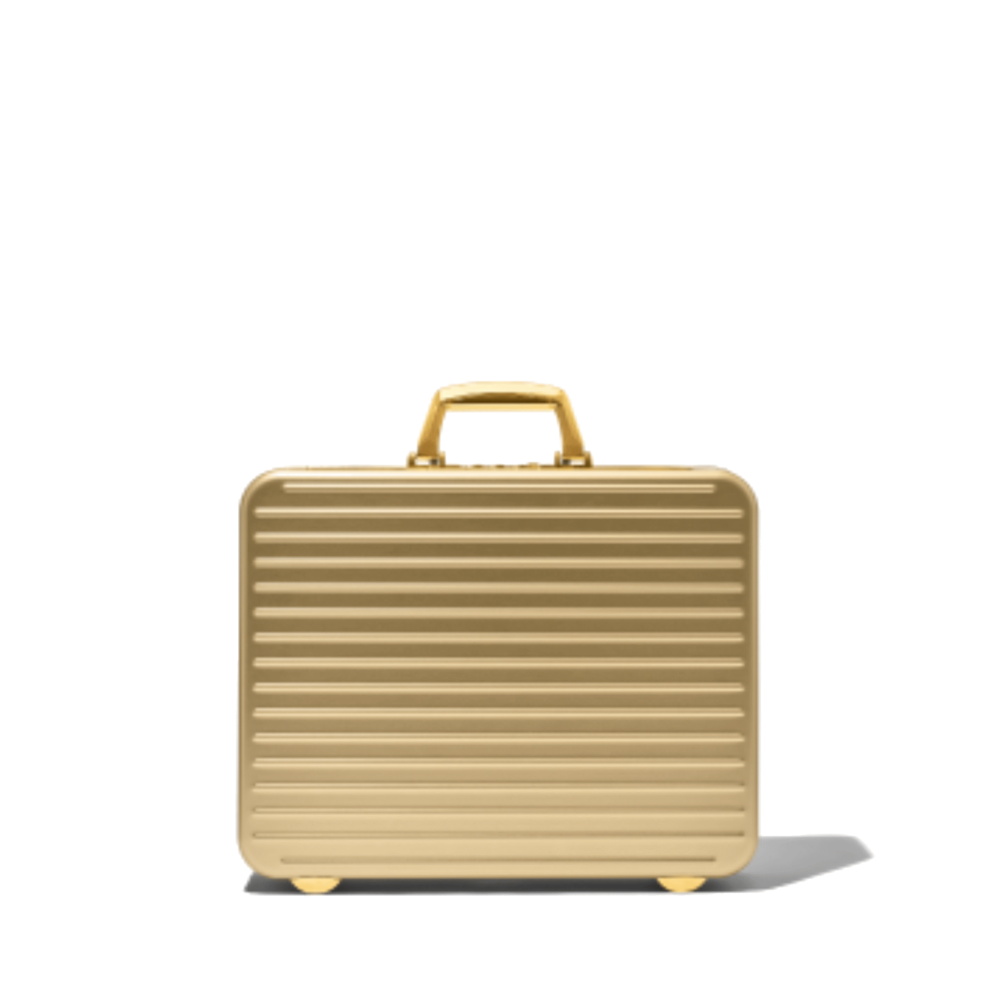 Gold Attaché Case