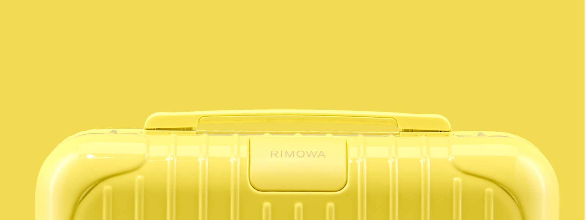 Saffron Yellow Suitcases